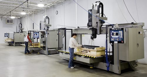 Forming and Trimming Equipment at Joslyn Manufacturing Facility