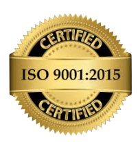 Joslyn Manufacturing has an ISO 9001:2015 certification