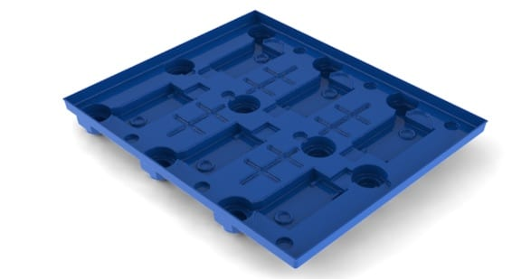 Thermoformed Plastic Dunnage