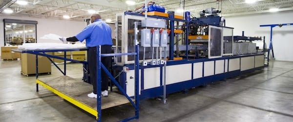Joslyn Manufacturing Professional Operating Thermoforming Machine