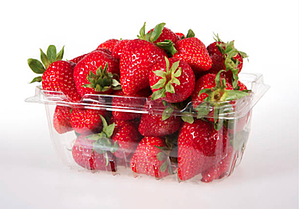 Strawberry Vacuum-Formed Packaging
